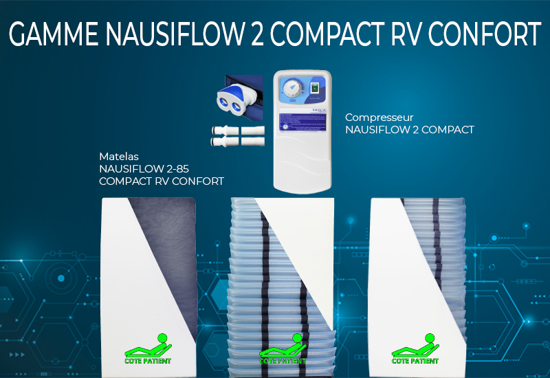 Gamme NAUSIFLOW 2 COMPACT RV CONFORT