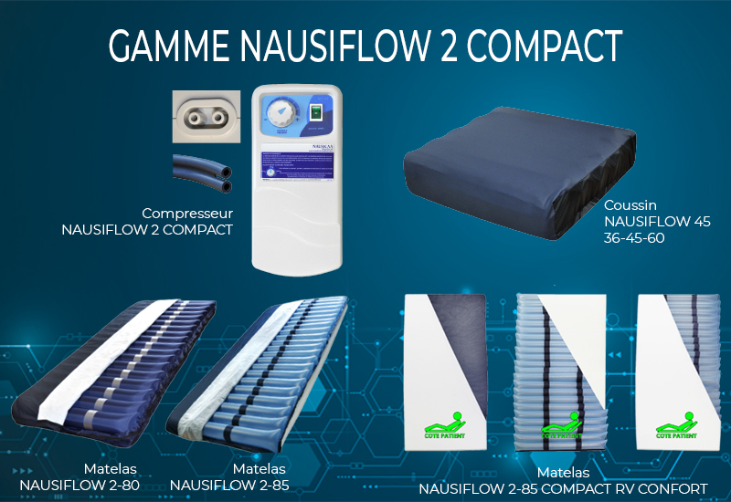 Gamme NAUSIFLOW 2 COMPACT