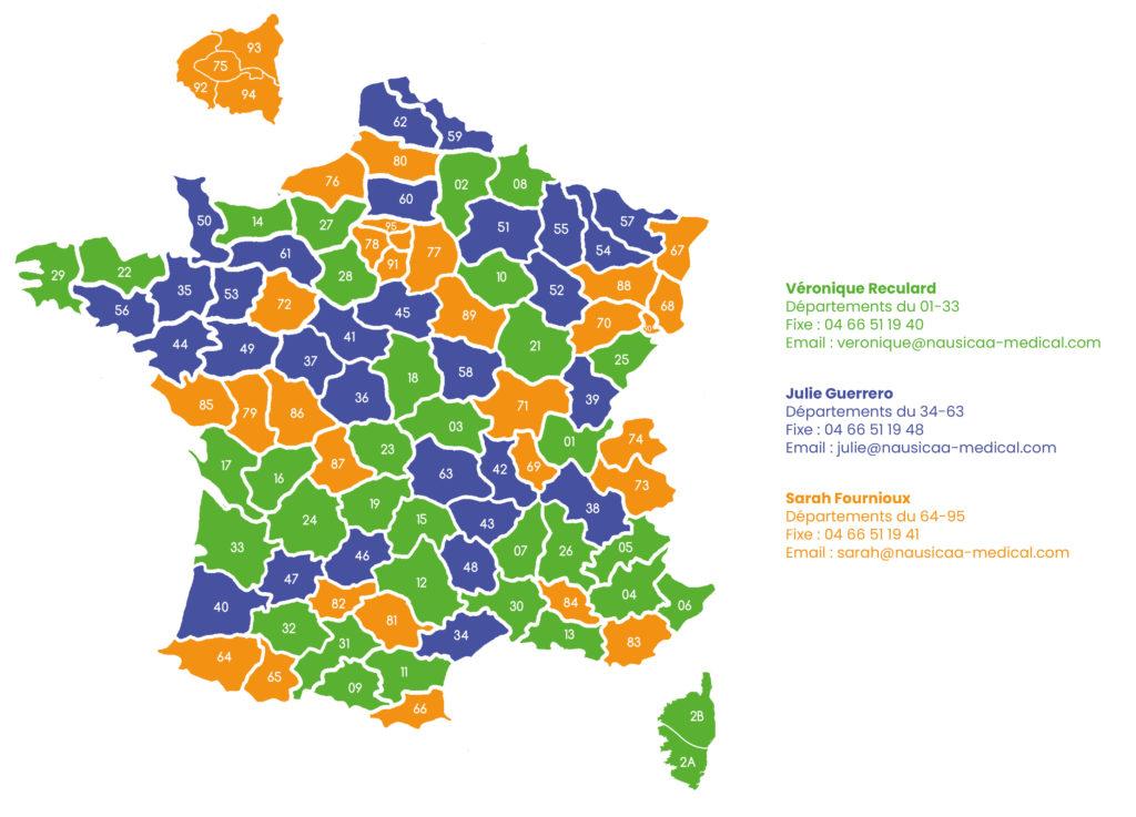 Carte France ADV